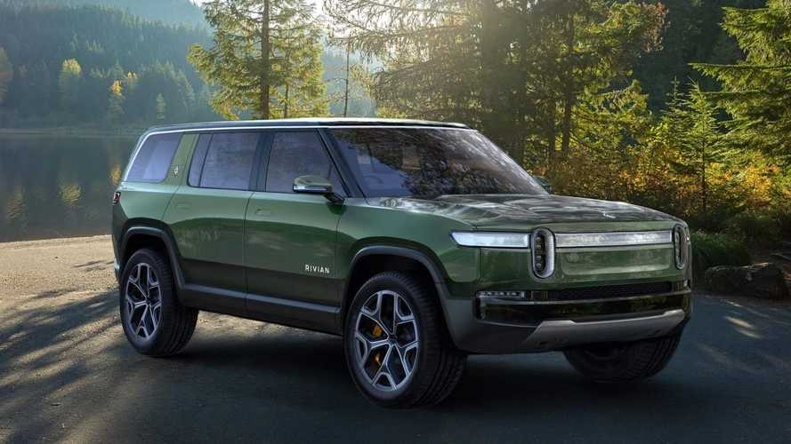 Rivian debuts R1S electric SUV with 7 seats and big battery