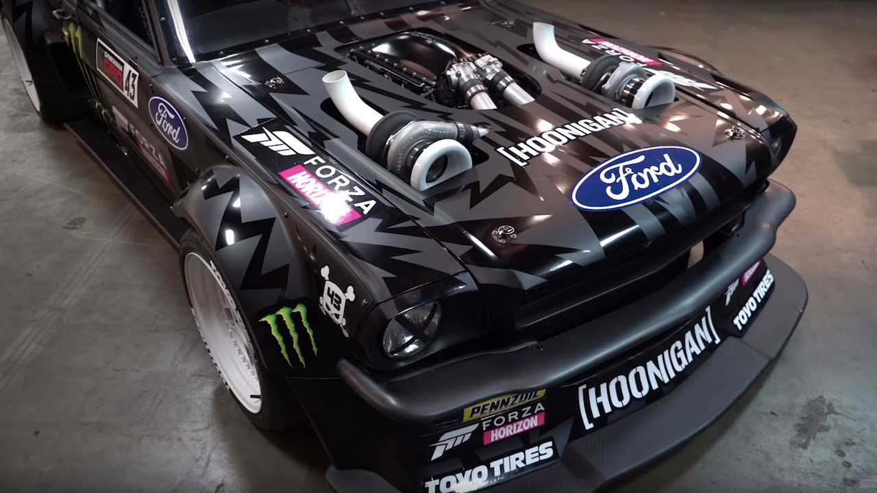 20 minutes with ken blocks bonkers 1400 hp awd mustang