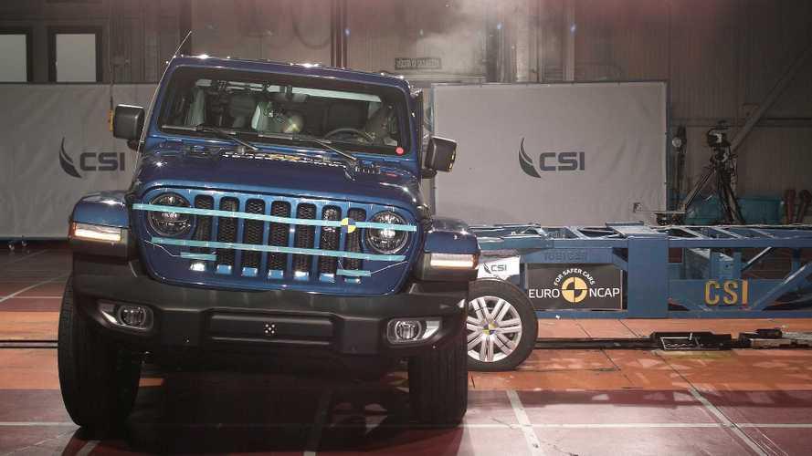 Novo Jeep Wrangler decepciona e recebe apenas 1 estrela em crash-test do Euro NCAP