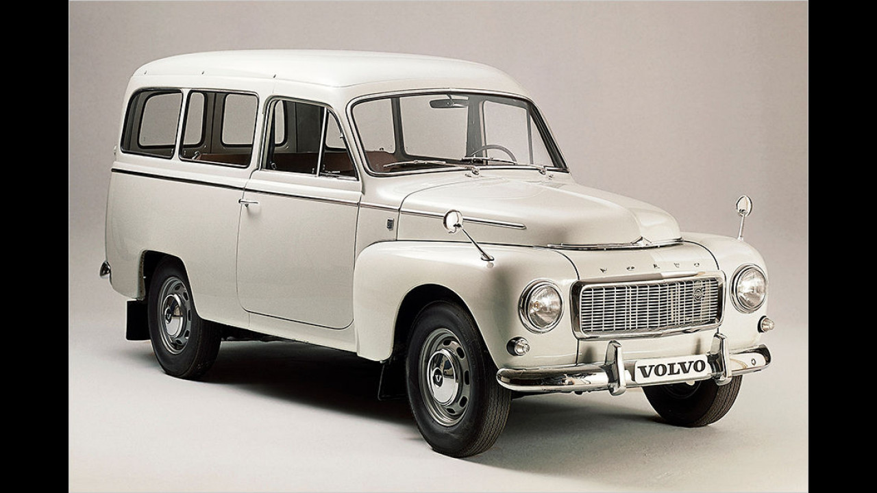 Volvo Duett: Die neue Version P210 Duett