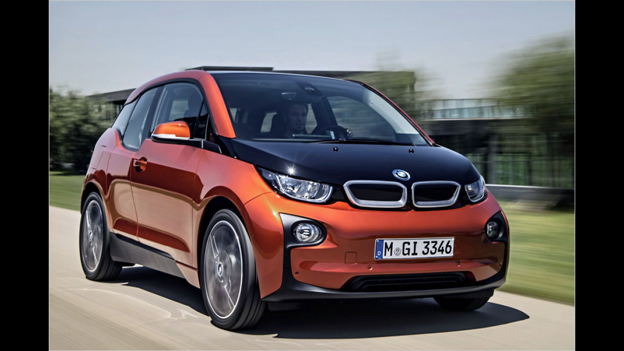Platz 1: BMW i3 mit Range Extender