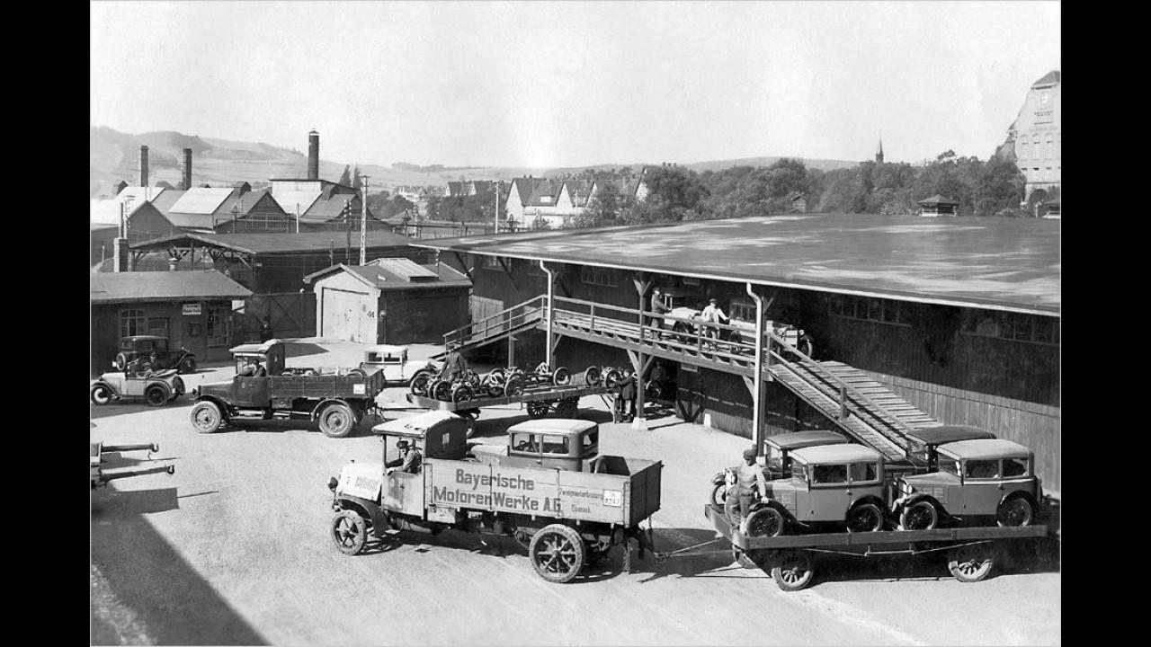 1. Oktober 1928: BMW wird Autohersteller