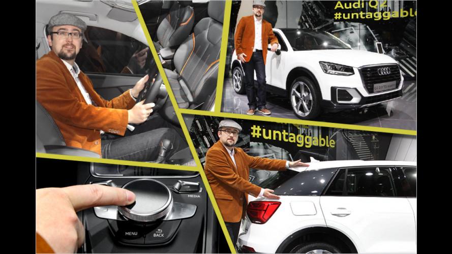 Sitzprobe im neuen Audi Q2
