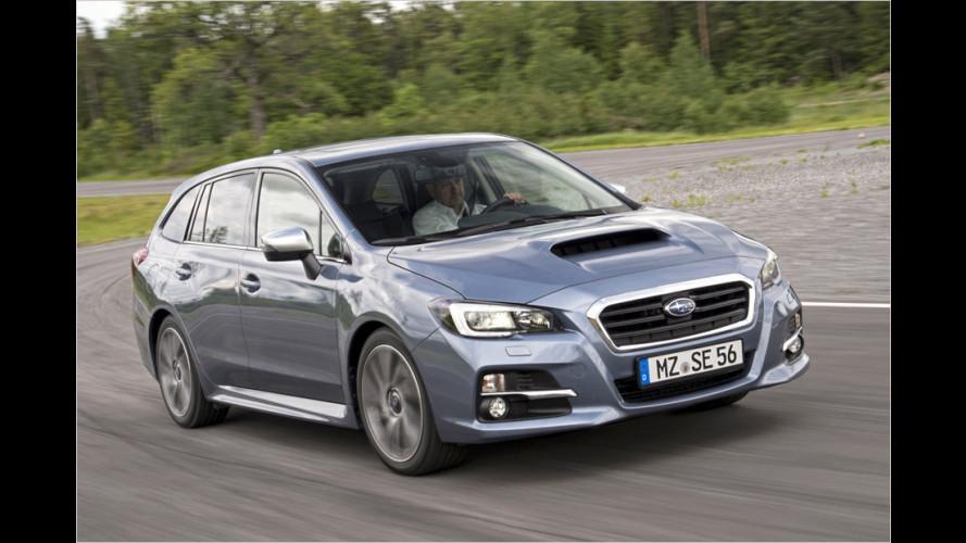 So tritt der Subaru Levorg gegen Passat und Co. an (2015)