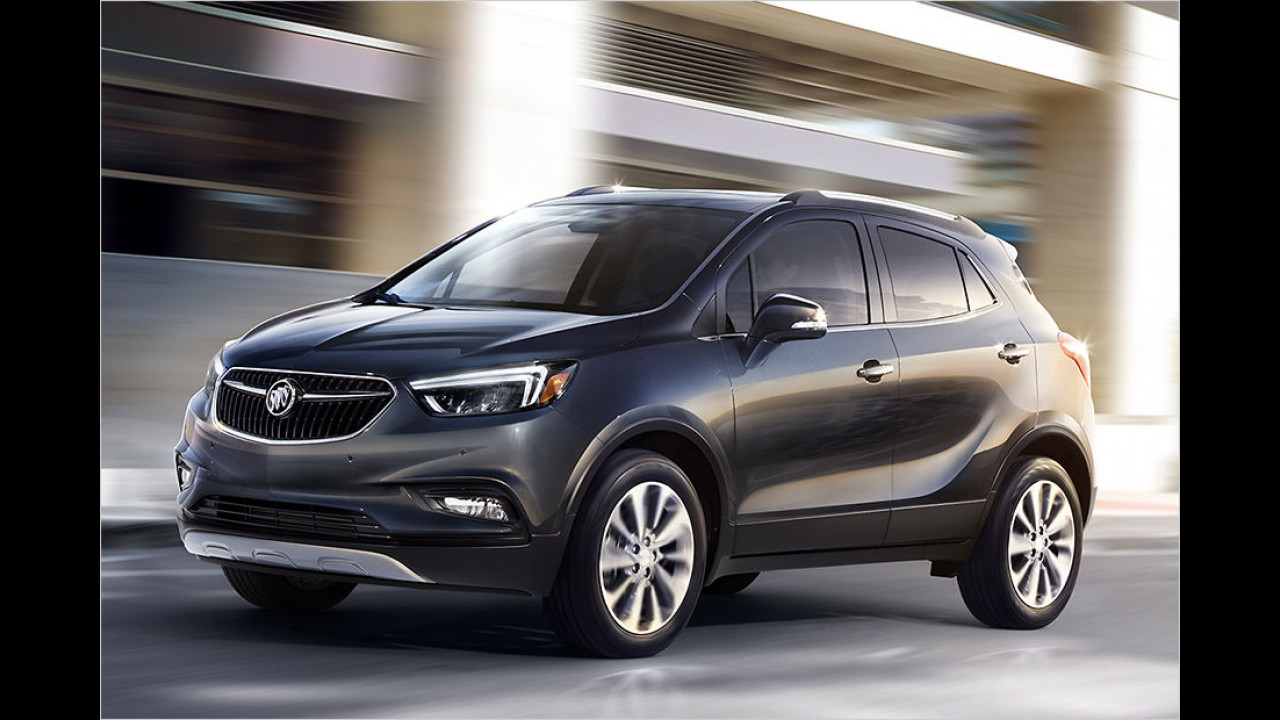 Buick Encore Facelift