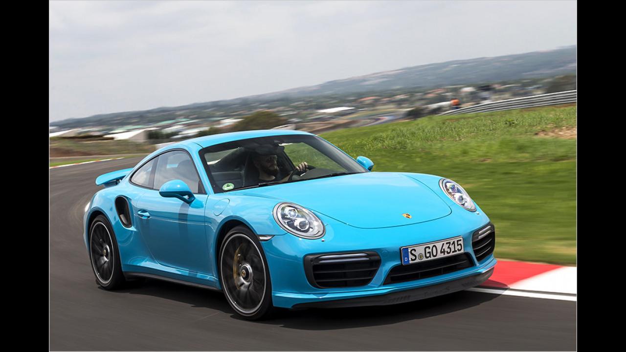 Sportwagen: Porsche 911 Turbo