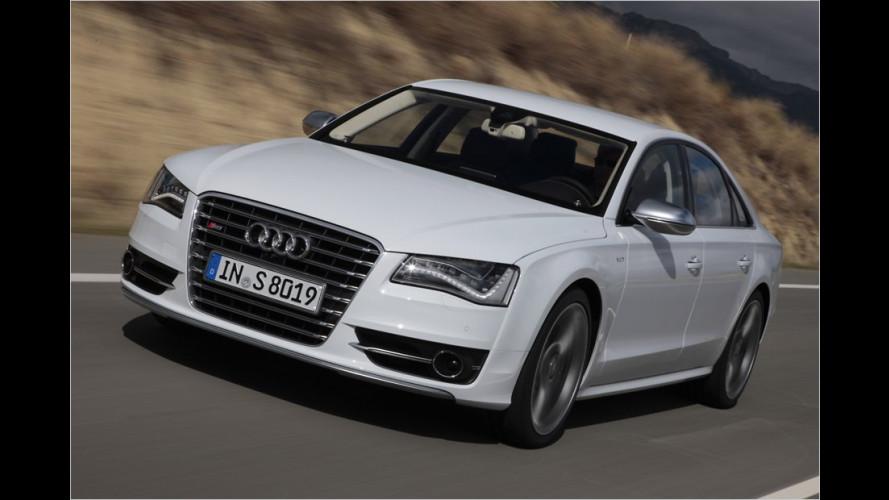 Neuer Audi S8 (2011) im Test: V8-Riese mit Schlummerfunktion