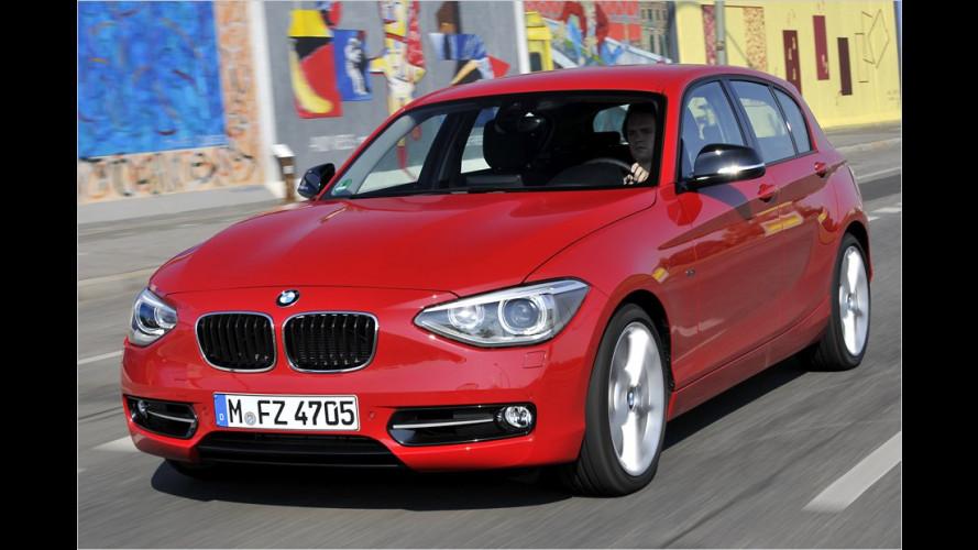 Auffahr-Warnsystem für neuen BMW 1er
