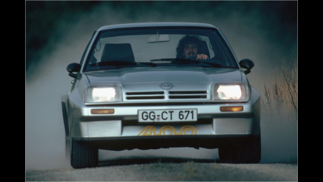 1. Platz: Opel Manta (28 Prozent)