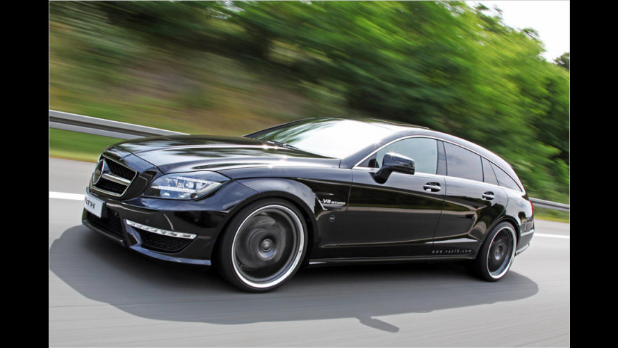 Väth tunt den Mercedes CLS 63 AMG Shooting Brake
