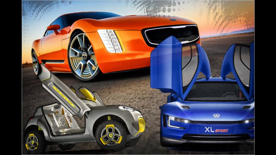Das waren die spannendsten Studien und Concept Cars der Automessen 2014