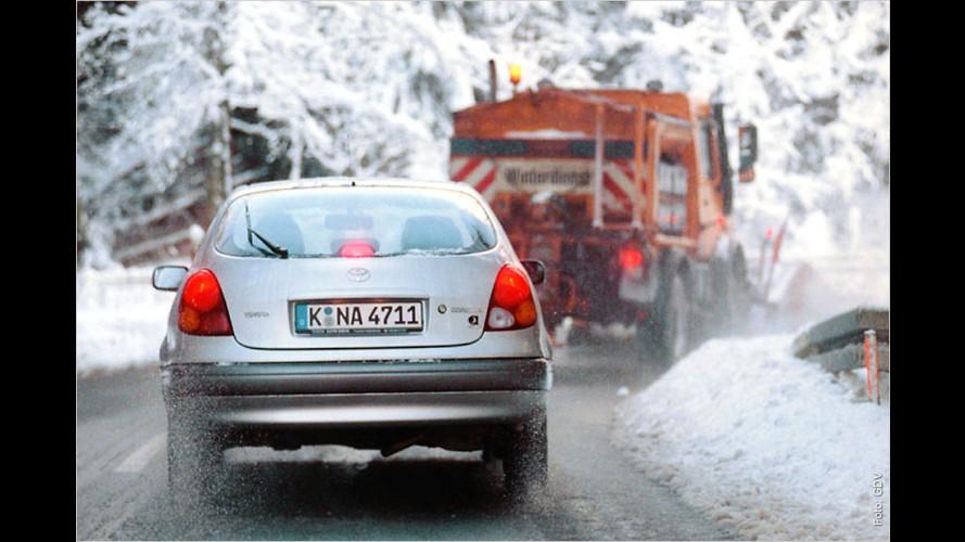 GTÜ testet Scheibenreiniger für den Winter (2014)