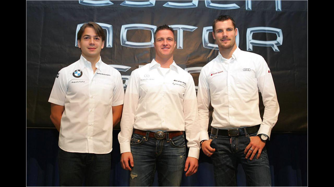 Augusto Farfus, Ralf Schumacher, Martin Tomczyk