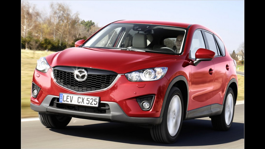 Mazda CX-5 (2012) als Basisversion im Test