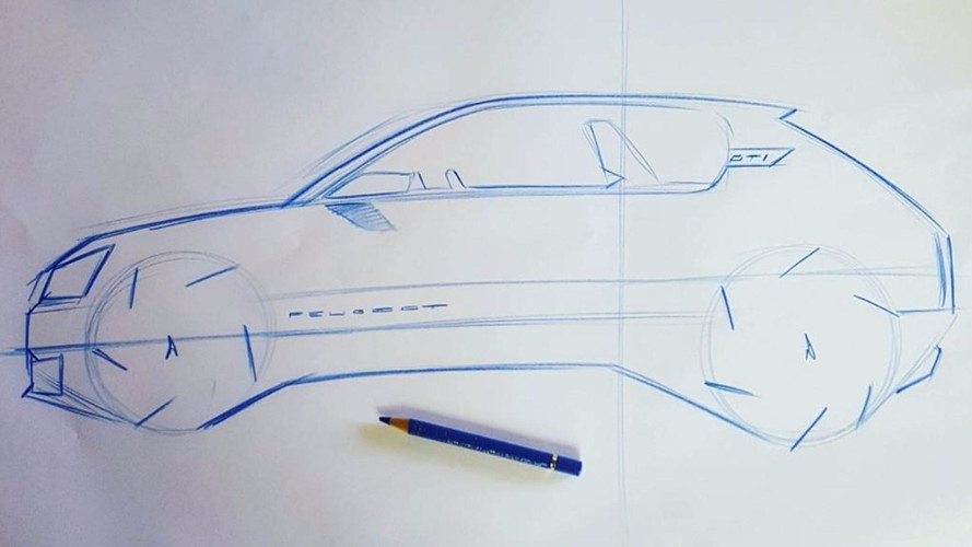 Sketchs Peugeot 205 GTI