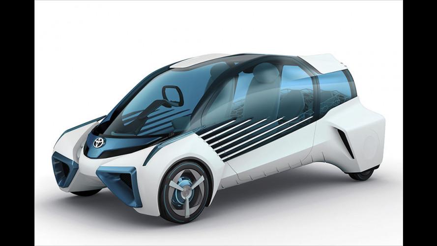 Neue Wasserstoffautos Toyota FCV Plus und Honda Clarity Fuel Cell (2016)