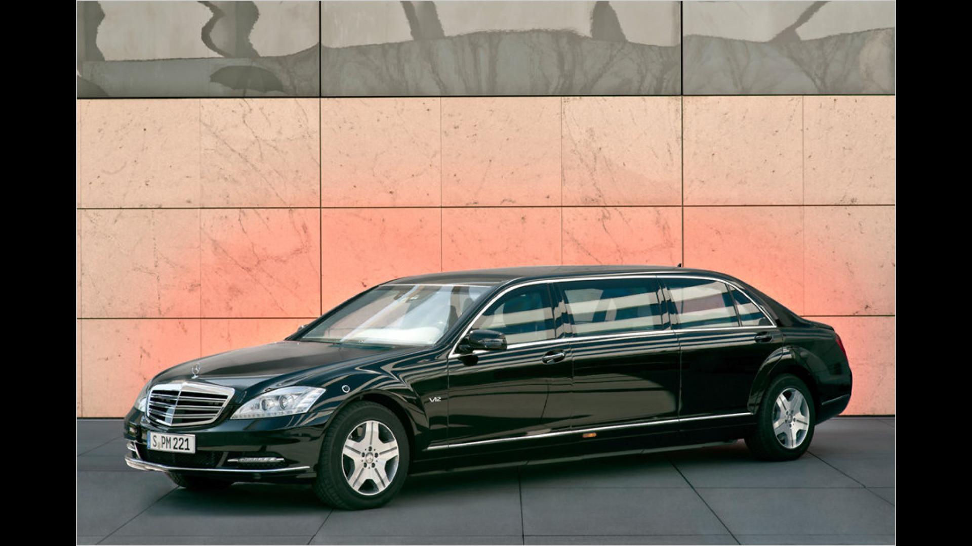 Die Geschichte der Mercedes S Klasse