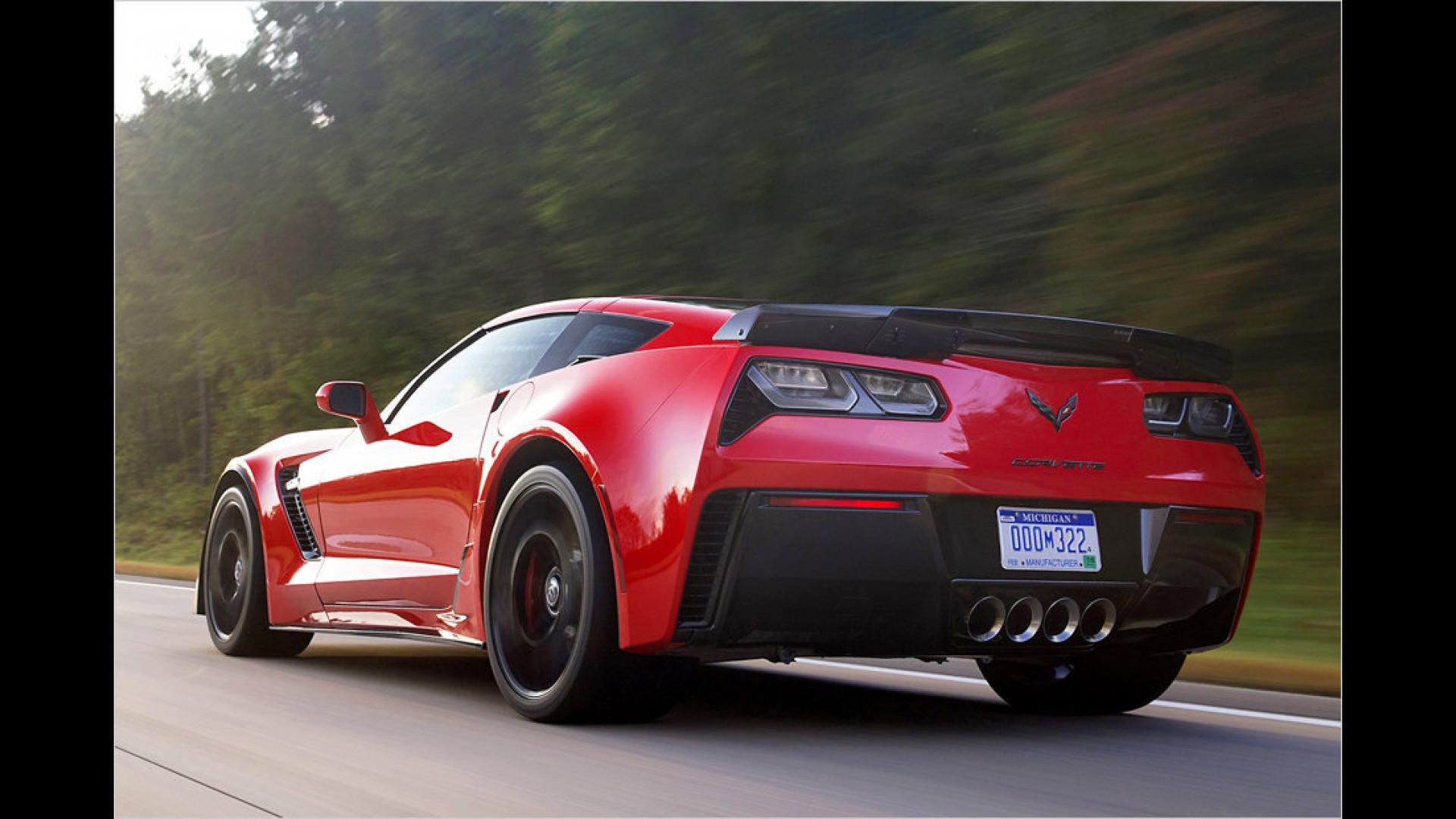 Chevrolet Corvette Z06 Das Kostet Sie