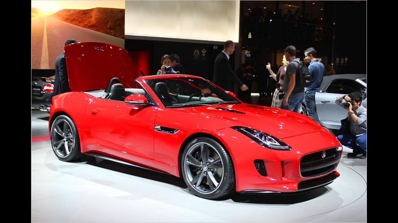 Paris 2012: Jaguar F-Type im Erstkontakt