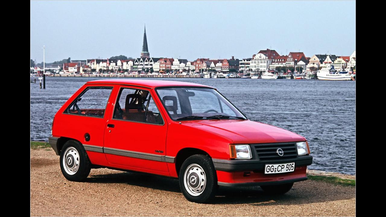 30 Jahre Opel Corsa A