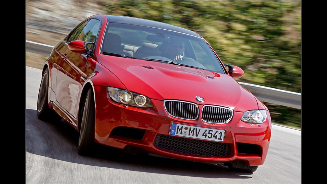 Platz 12: BMW M3 Coupé