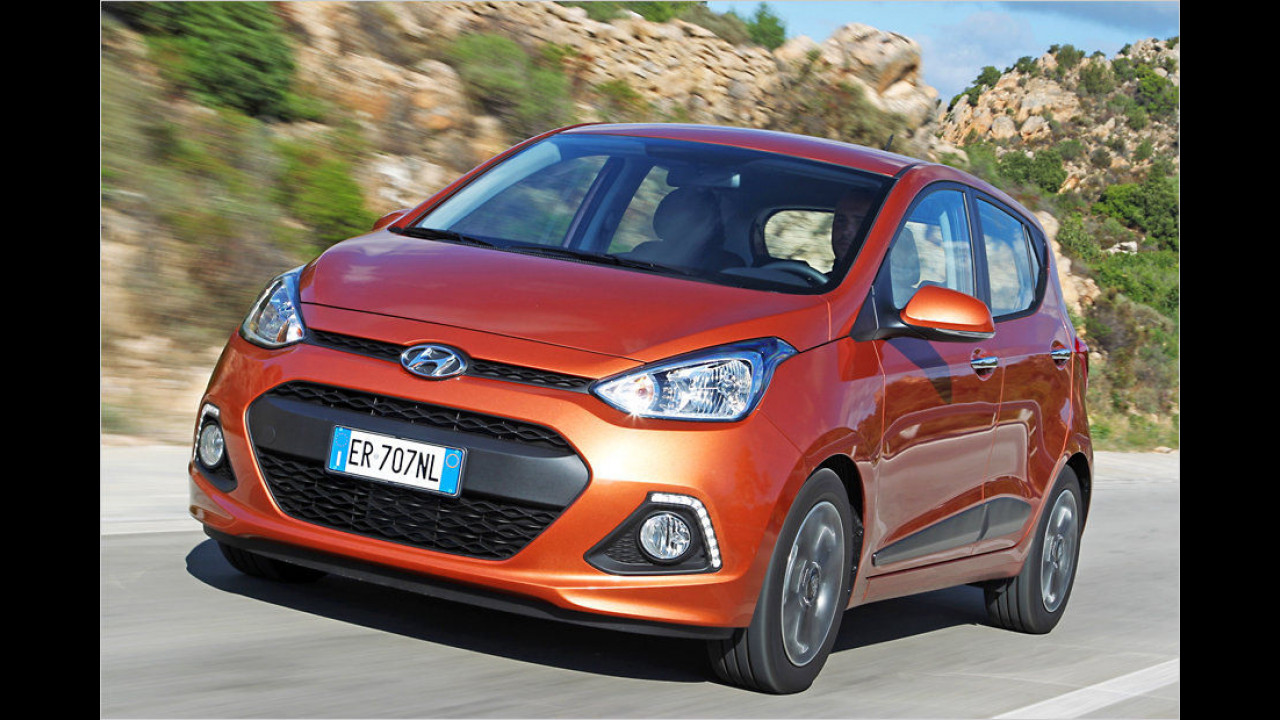 Hyundai i10 1.0 Classic (67 PS): 21,6 Prozent