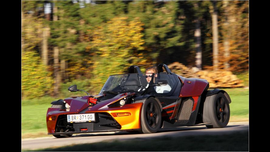 KTM X-Bow GT: Männerspielzeug