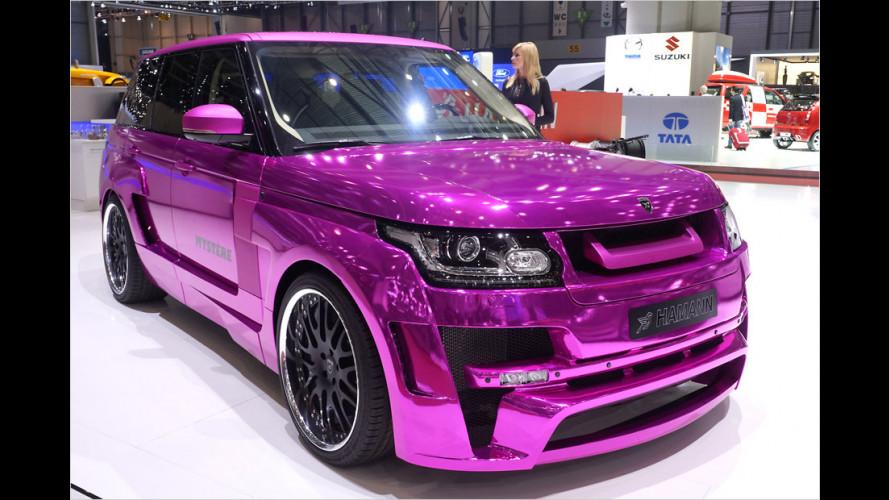 Schlagkräftiger Pink Panther
