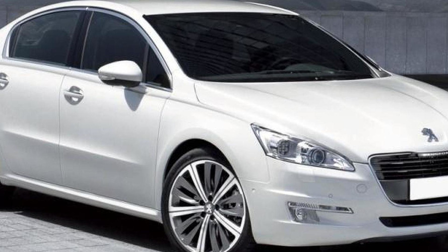 First Look: Peugeot 508 Photo Leaked