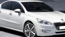 2011 Peugeot 508 leaked image