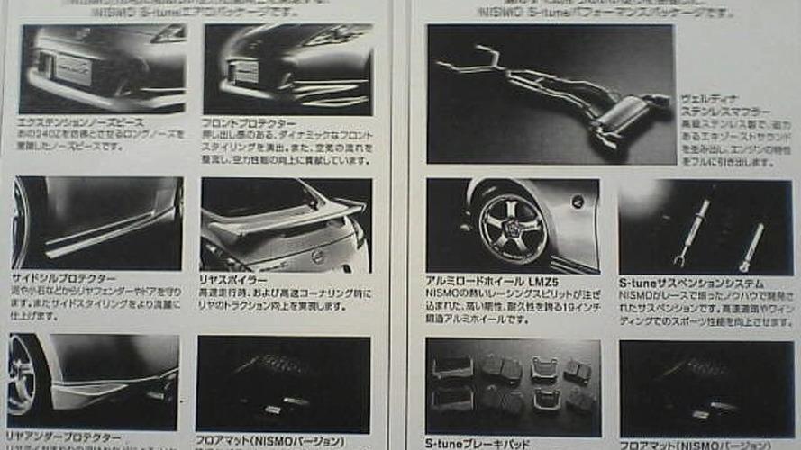 Nissan 370Z Nismo S-Tune Brochure Springs a Leak
