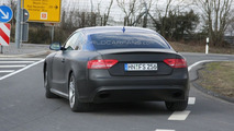 Audi RS5 spy photos near Nurburgring