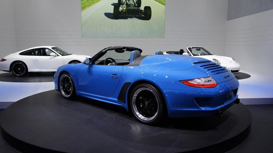 Porsche 911 Speedster at Paris