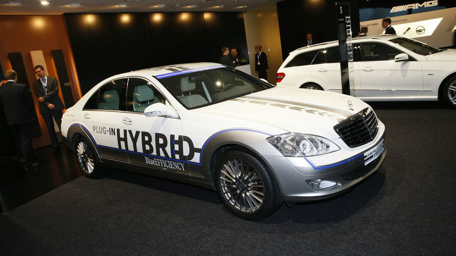 Mercedes Vision S 500 Plug-in hybrid Unveiled in Frankfurt [video]