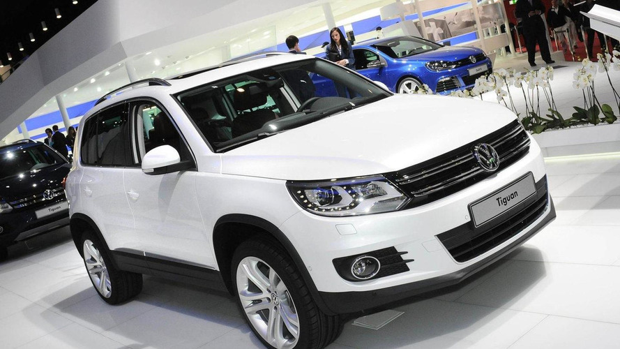 2012 Volkwagen Tiguan facelift revealed in Geneva