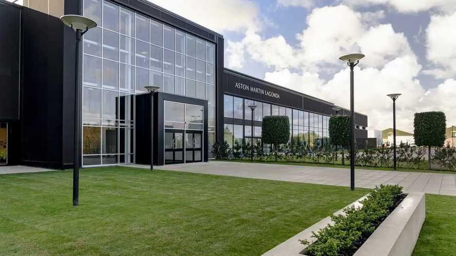 Aston Martin's nouvelles usine de St Athan