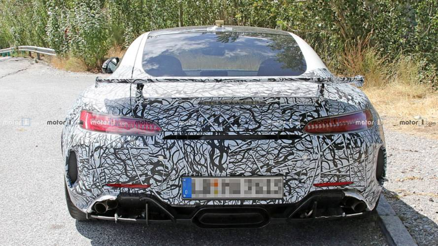 Mercedes-AMG GT R Spied With Lexus-Esque Exhaust