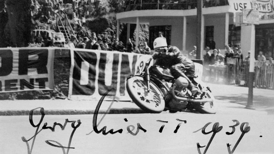 George Meier in the 1939 Isle of Man TT