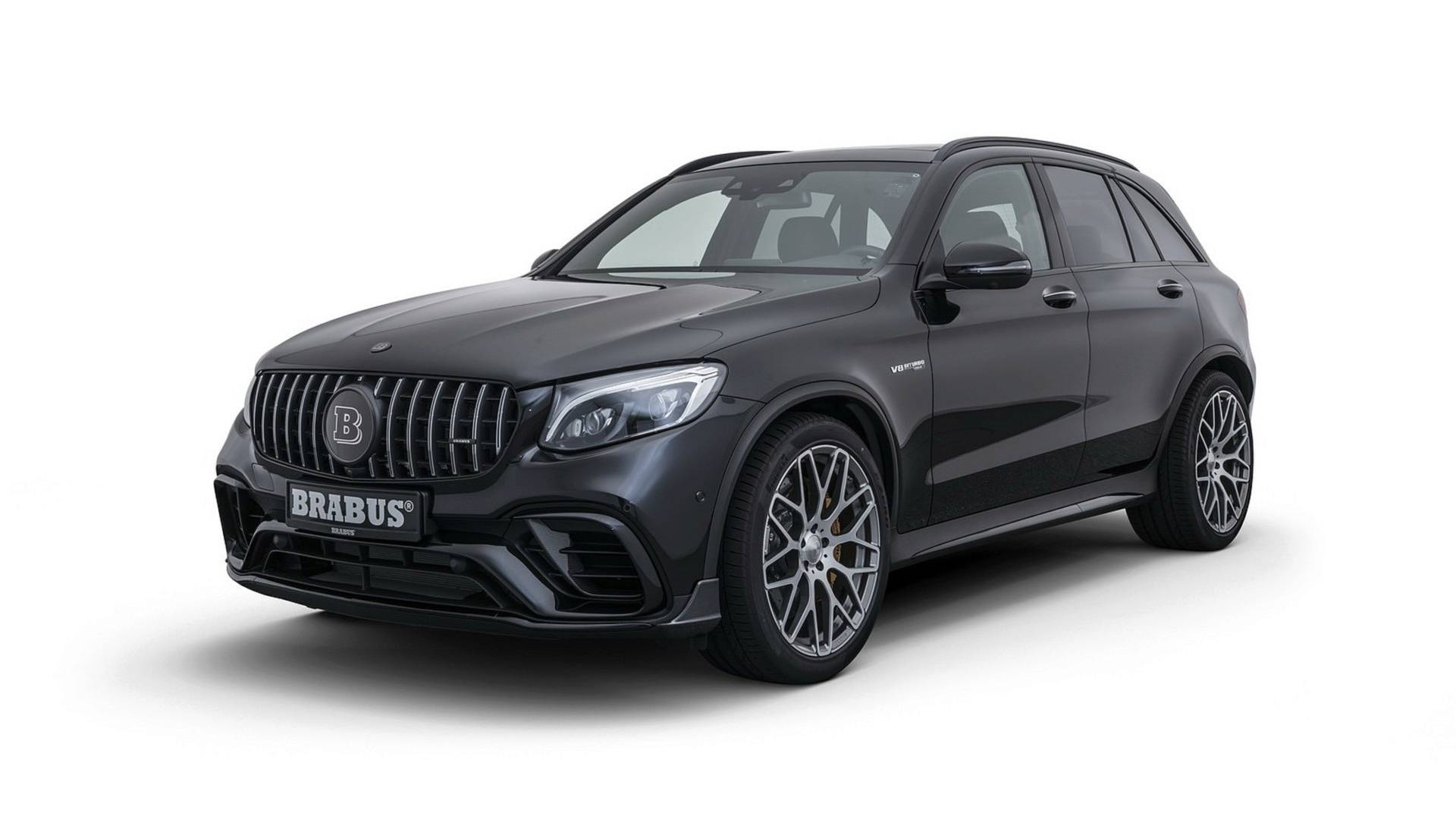 Mercedes-AMG GLC 63 S Gets Power Infusion From Brabus