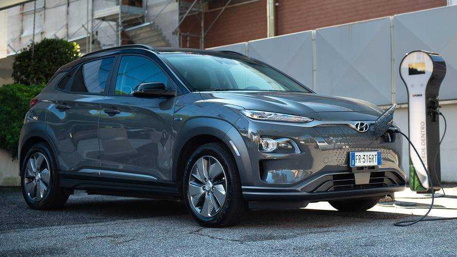 Elektrikli Hyundai Kona'nın menzili birçok rakibinden daha iyi