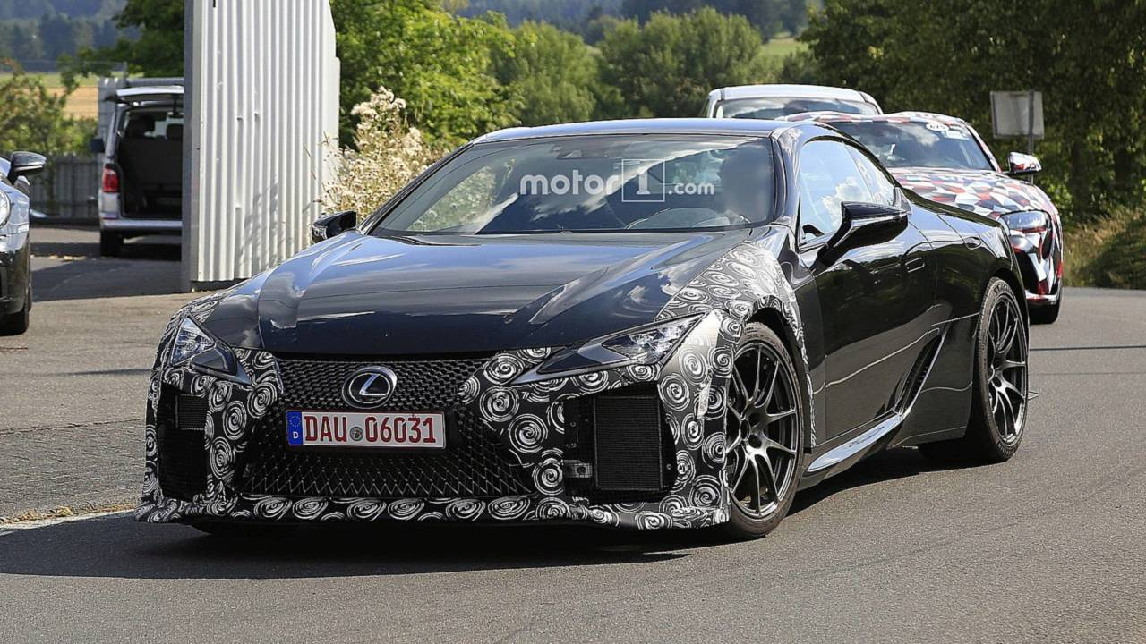 Lexus LC F 2019