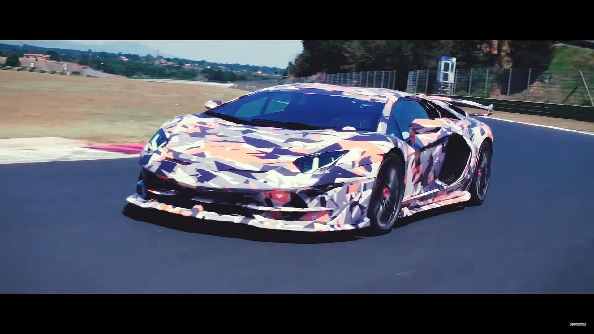 See The Lamborghini Aventador Svj Up Close In Walkaround Video