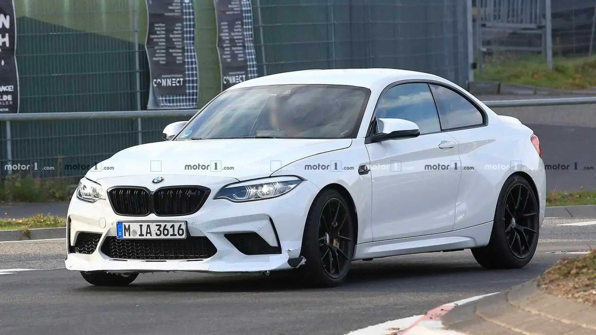 2016 - [BMW] M2 [F87] - Page 11 Bmw-m2-cs-csl-spy-shots