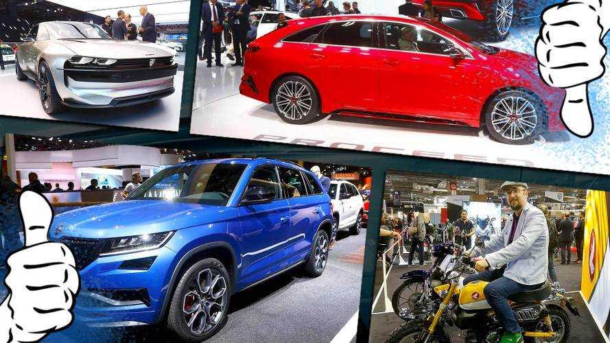 Pariser Autosalon 2018: Die Tops und Flops