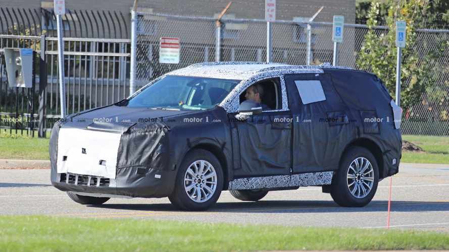 All-New Buick Three-Row SUV Spied Near GM Proving Grounds