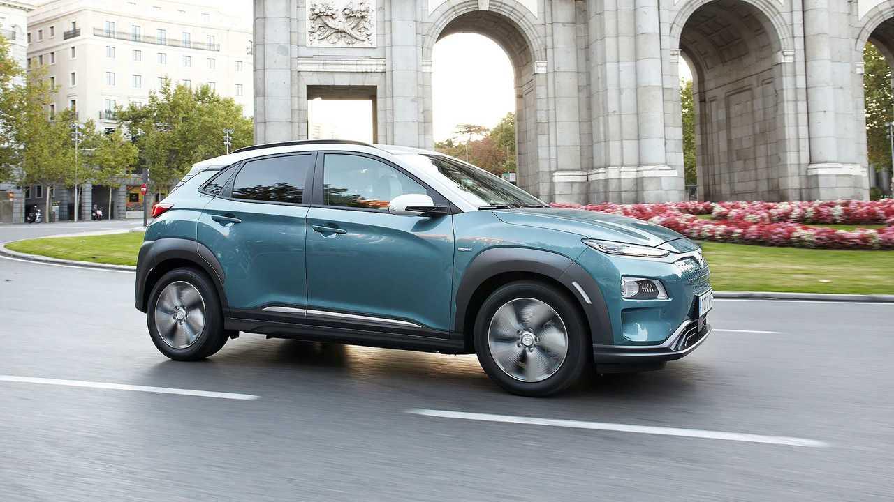 Hyundai Kona EV 2019 primera prueba