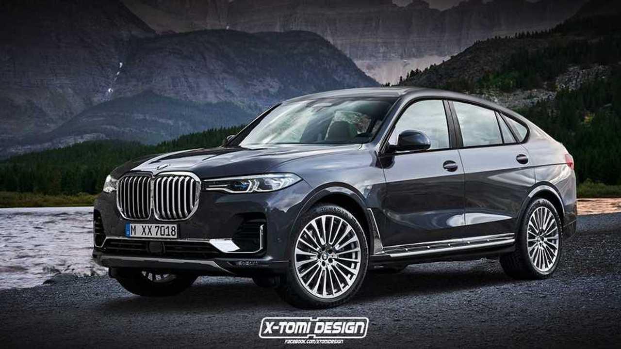 BMW X8 Renderings