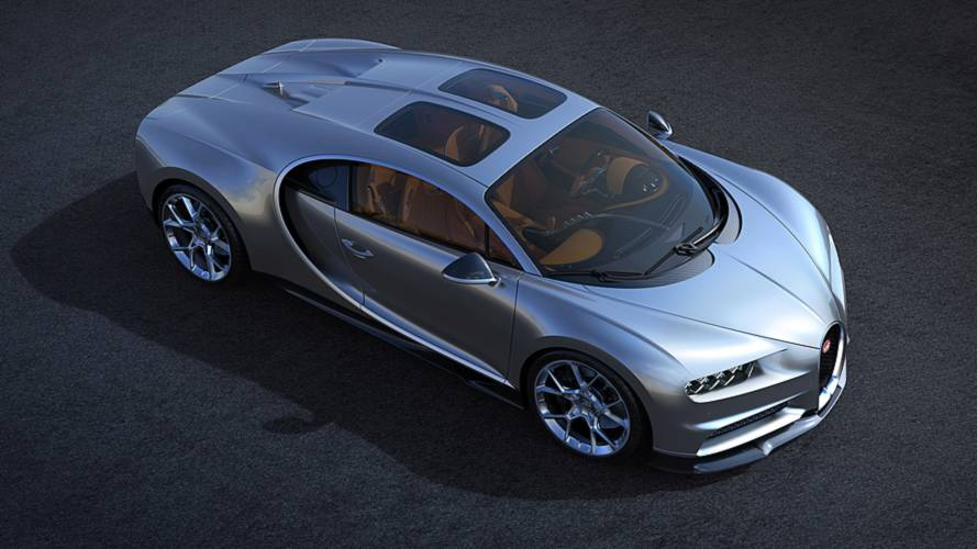Bugatti Chiron's New Sky View Glass Roof Option Looks Cool