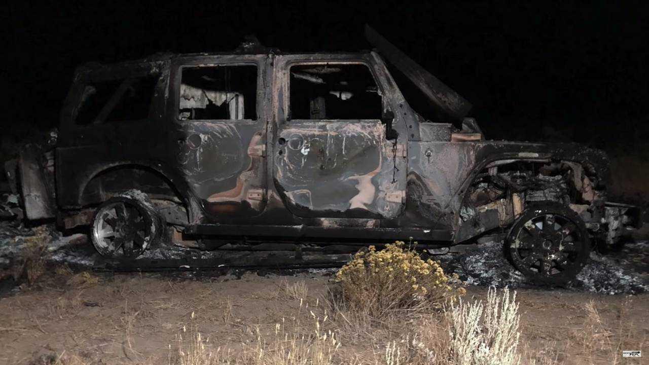 Jeep Wrangler Fire