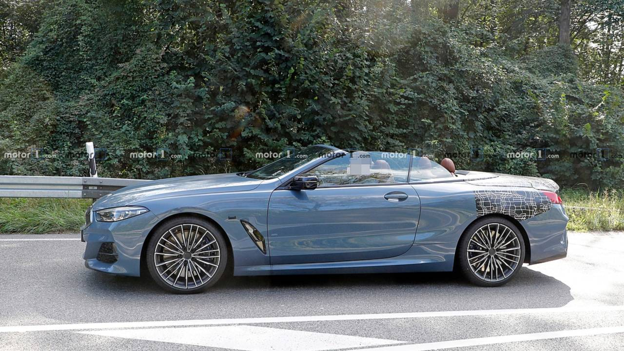 bmw 8 series convertible spied uncovered photos. Black Bedroom Furniture Sets. Home Design Ideas